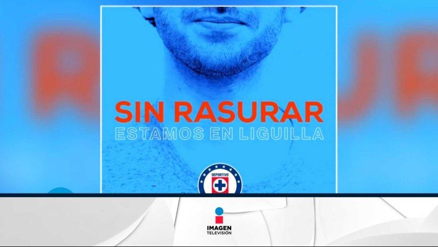Cruz Azul pide a sus aficionados no rasurarse en la Liguila