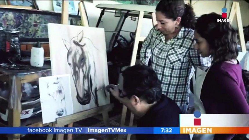 Rifado mexicano lleva su arte a todo el mundo