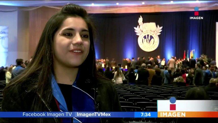 La mexicana más inteligente, tiene 16 años y una maestría