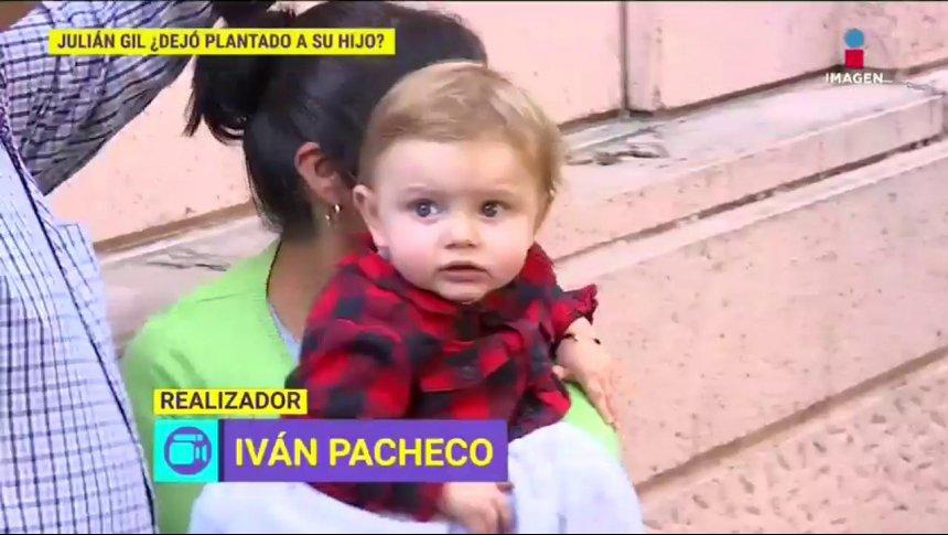 ¡Julián Gil deja plantado a su hijo Matías el día de visita!
