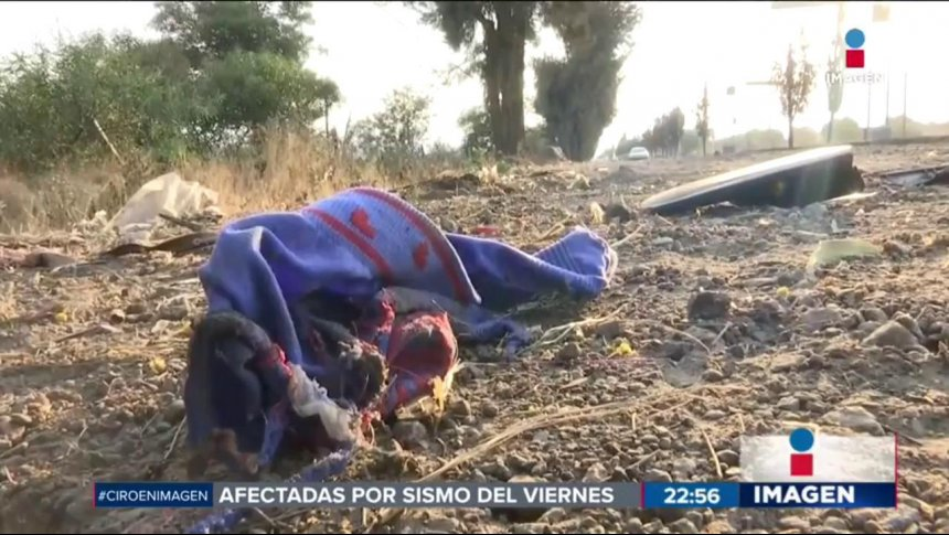 Un niño choca un auto en Tláhuac