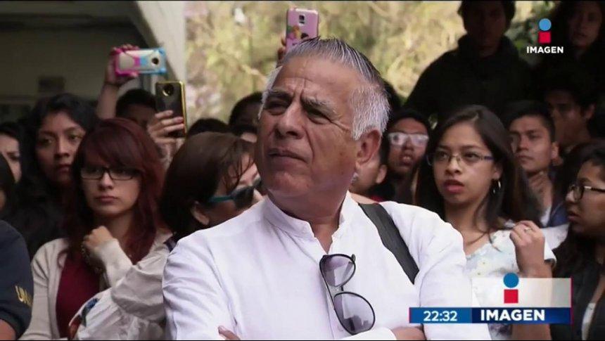 Profesor acusado de acoso en la UNAM enfrentó a estudiantes