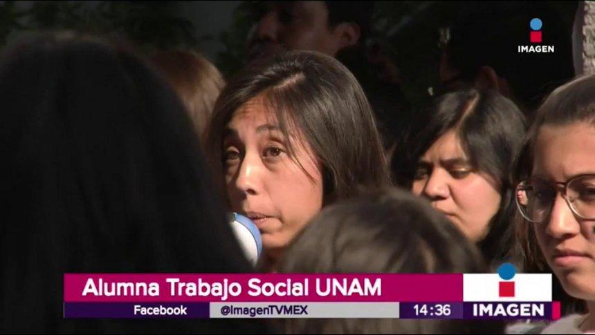Violan a alumna en Ciudad Universitaria
