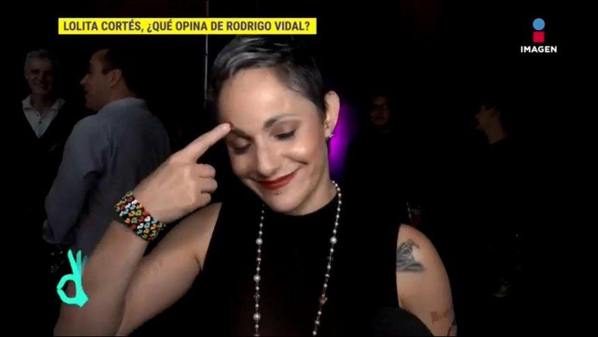¡Lolita Cortés le responde a Rodrigo Vidal!