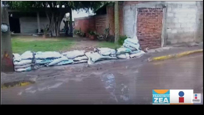 Tromba en Salamanca, Guanajuato, causa graves estragos