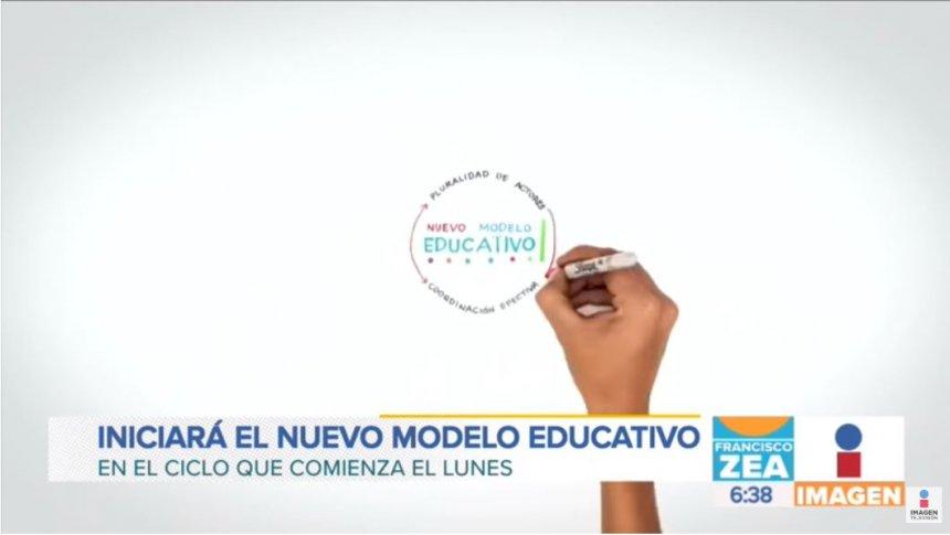 El Nuevo Modelo Educativo entrará en vigor el próximo lunes