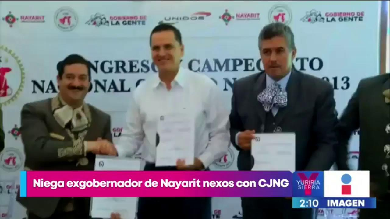 Ex gobernador de Nayarit niega nexos con CJNG Imagen Televisión