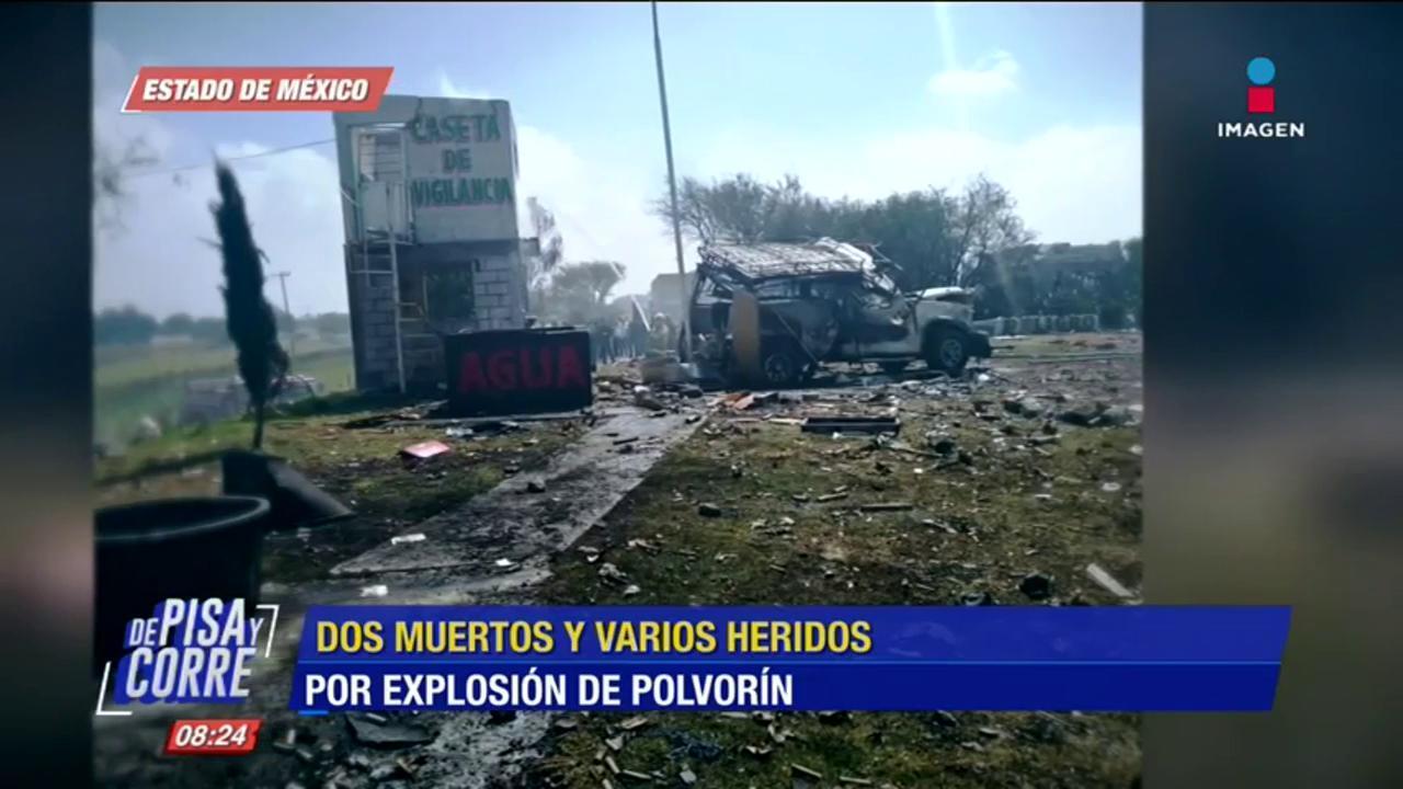 Detalles sobre explosión de polvorín en Zumpango - Imagen Televisión