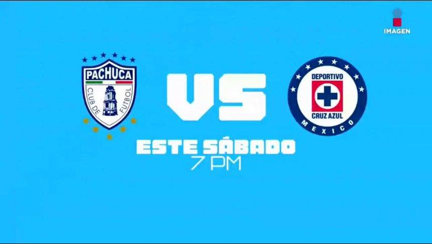 Pachuca recibe a Cruz Azul en la fecha 16