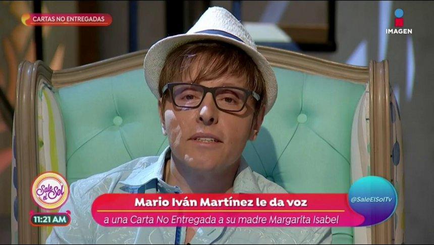 Carta no entregada de Mario Iván Martínez a su madre
