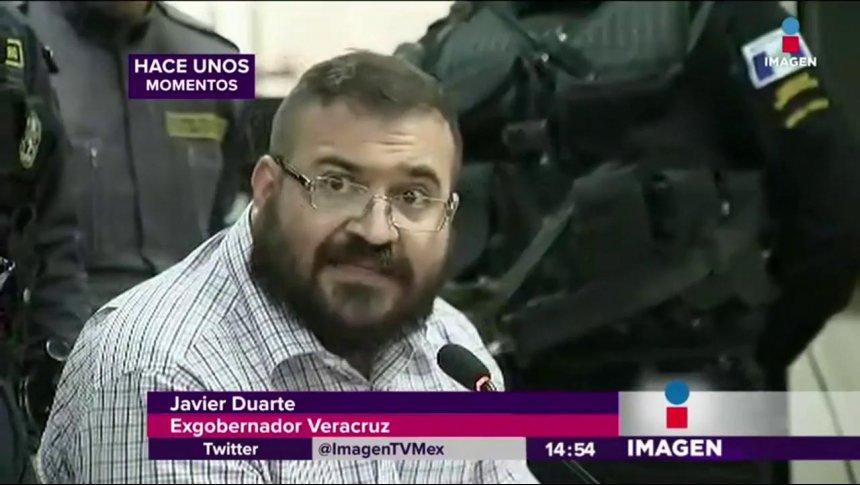 Javier Duarte regresa a México: Aceptó su extradición