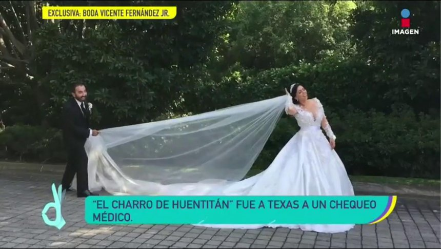 ¿Por qué Vicente Fernández no asistió a la boda de su hijo?