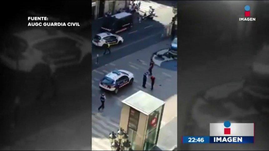 Atentado terrorista en Barcelona dejó al menos 13 muertos