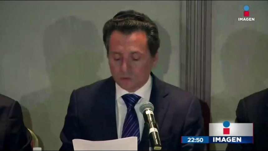 Lozoya compareció en PGR por caso Odebrecht