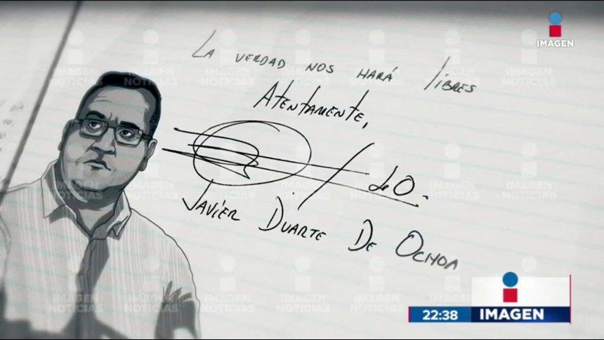 Javier Duarte comienza una huelga de hambre en el Reclusorio