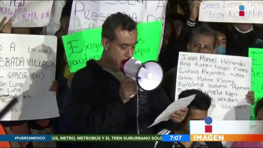 Damnificados exigen información sobre labores de rescate