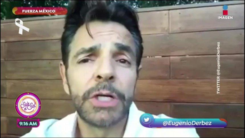 Eugenio Derbez manda un emotivo mensaje a México