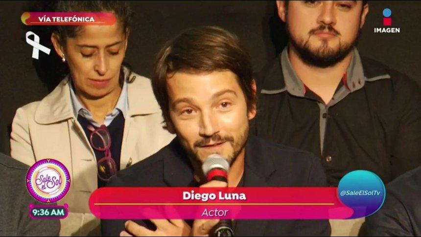 Diego Luna convoca a los mexicanos a darnos la mano
