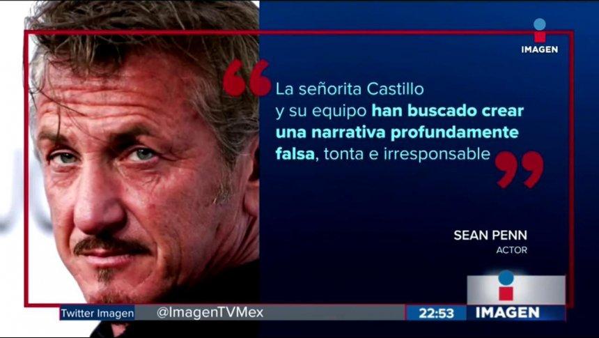 Kate del Castillo admite haber tenido sexo con Sean Penn