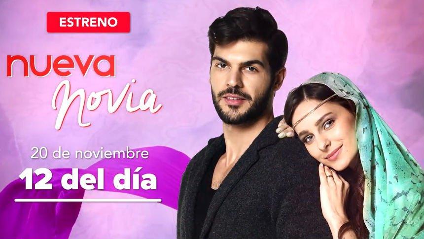 Nueva novia, estreno 20 de noviembre por Imagen Televsión