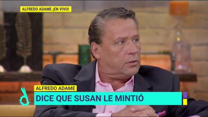 En exclusiva: Alfredo Adame desenmascara a su exnovia Susan