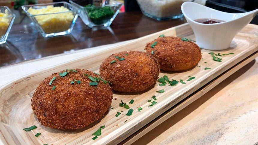 Cocina de Solteros: albóndigas de arroz