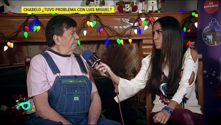 ¿Chabelo se encontró con Luis Miguel?