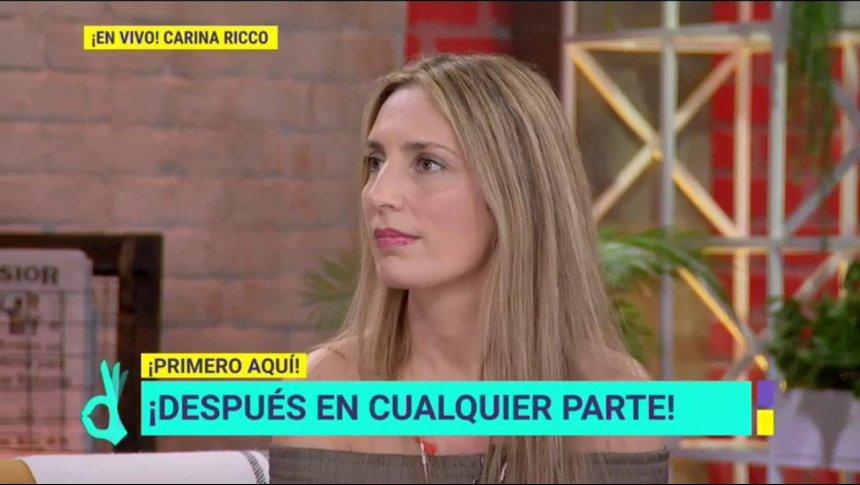 Carina Ricco habla de sus proyectos y sus hijos