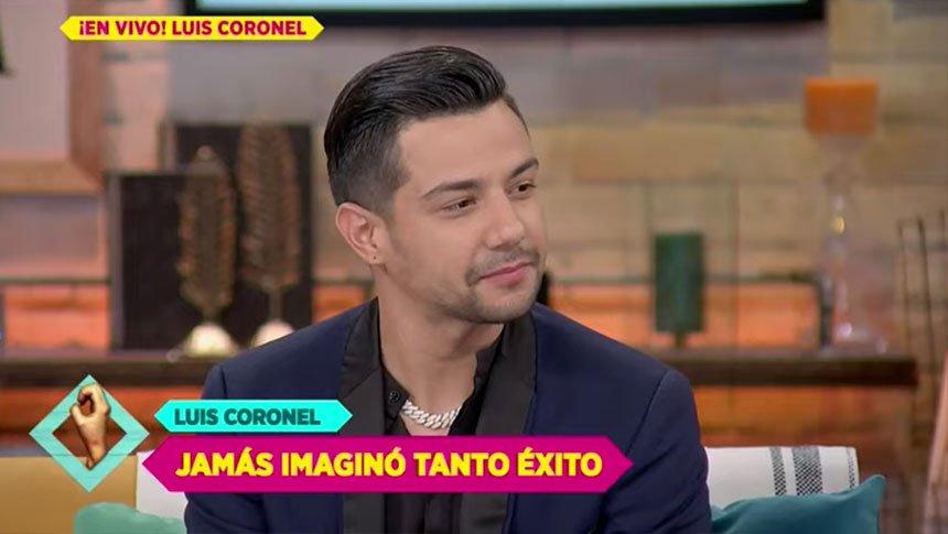 Luis Coronel presenta