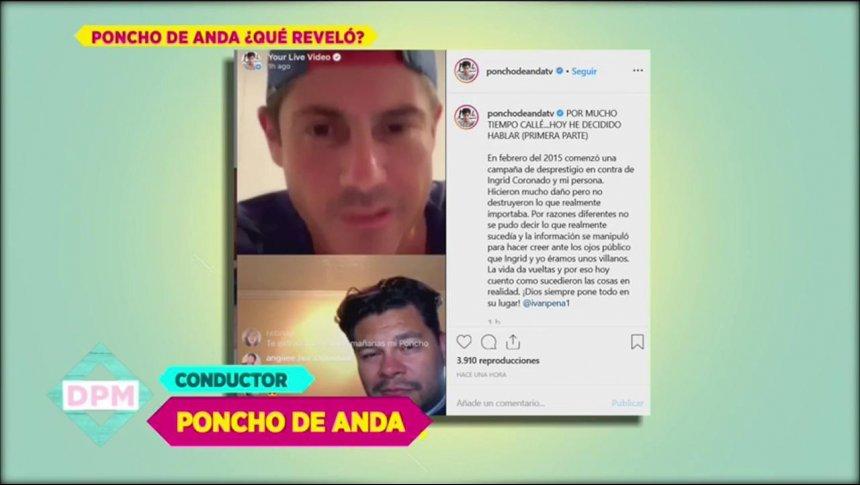 Poncho de Anda afirma Raquel Bigorra intentó desprestigiarlo