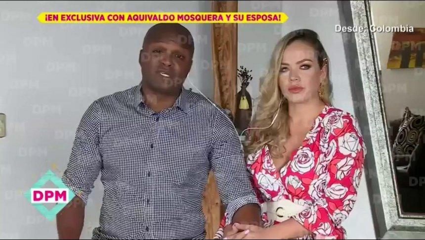Aquivaldo Mosquera revela todo sobre su relación con Karla