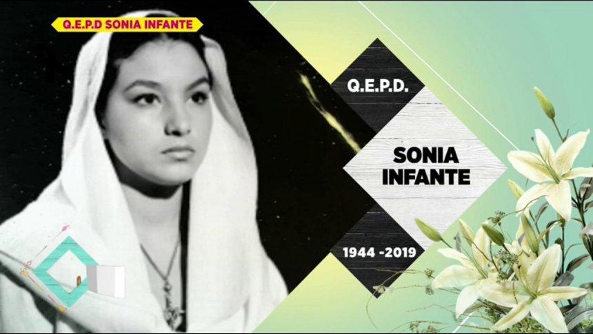 Fallece la actriz Sonia Infante a los 75 años de edad