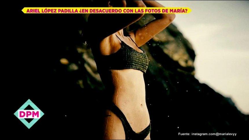 Ariel López Padilla habla de las fotos de su hija María Levy