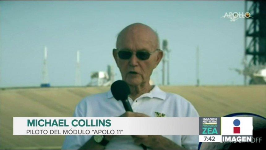 Michael Collins, piloto del