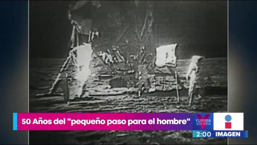 Hoy se cumplen 50 años del la llegada al hombre a la Luna