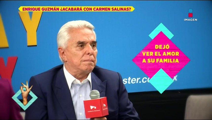 'No dije que iba a matar a Carmen Salinas': Enrique Guzmán