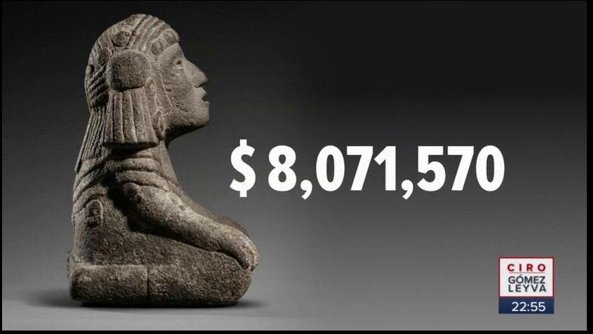 Subastan figuras de la diosa del agua por 377 mil euros
