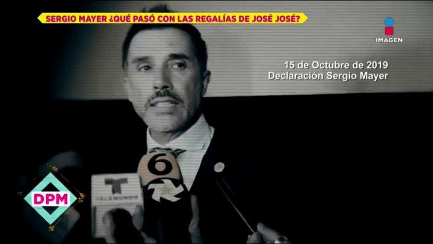 Todo sobre polémicas regalías de José José con Sergio Mayer