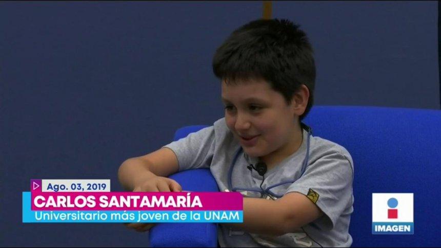 UNAM envía al niño genio de la UNAM al psicólogo