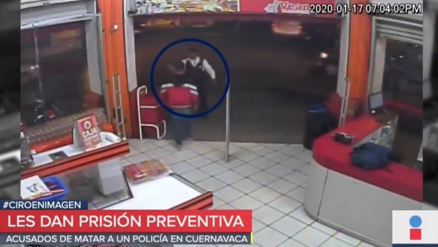 Así murió un policía heroico en Cuernavaca