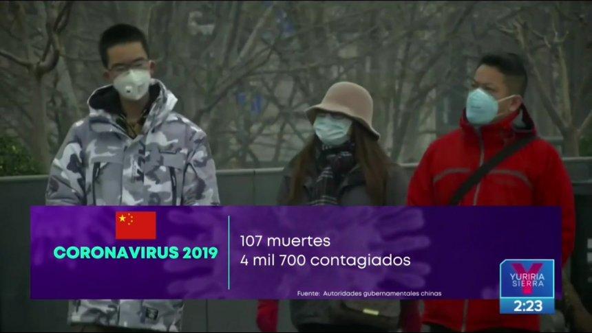 Crece la cifra de víctimas mortales por coronavirus en China