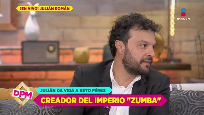 Julián Román se convirtió en Beto Pérez, creador de 'Zumba'