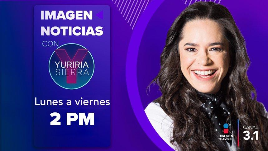 Imagen Noticias con Yuriria Sierra