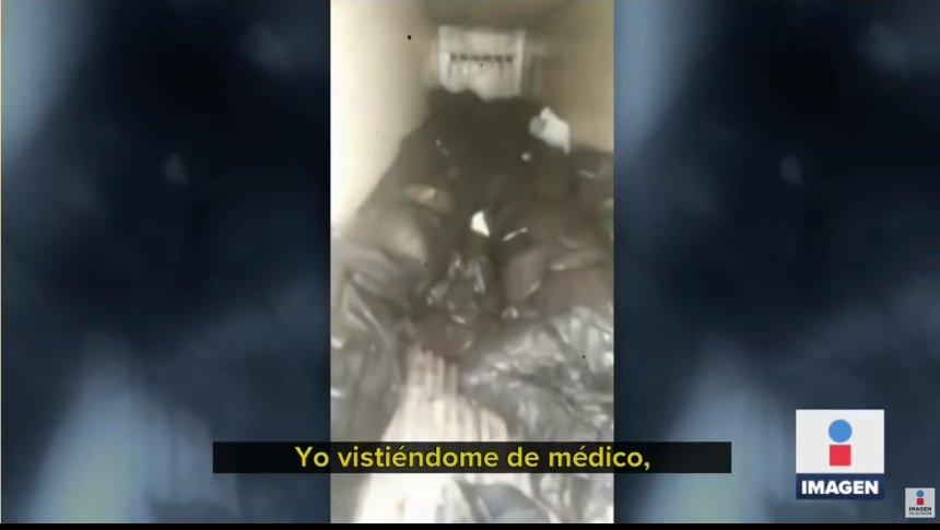 Buscan a muertos por Coronavirus en camiones refrigerantes