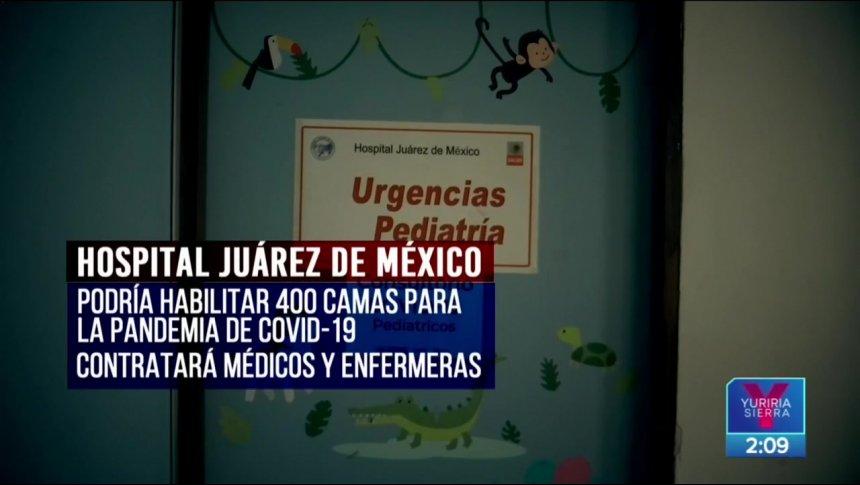 Hospital Juárez dará atención gratuita a pacientes con Covid