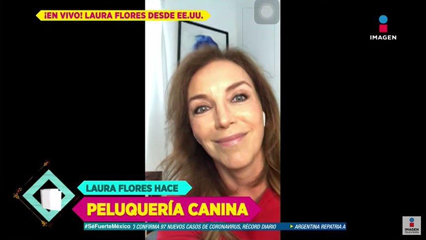 Laura Flores habla del confinamiento que vive en Florida