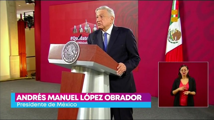 López Obrador dio negativo a la prueba de Covid-19