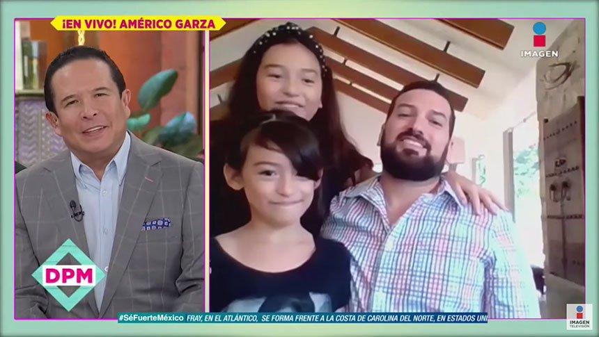 ¡Las hijas de Américo verán a los papás de Karla Luna!