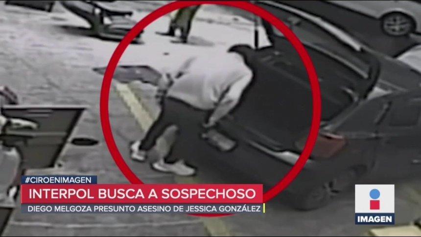 El último video de Diego Melgoza, acusado de feminicidio