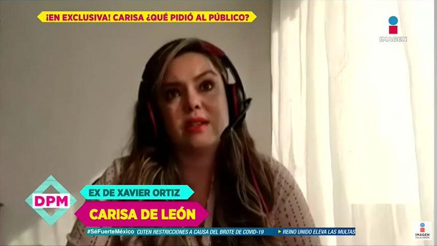 ¿Ex de Xavier Ortiz afectada por mensajes de odio?
